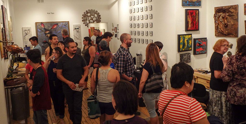First Friday Monthly Art Festival Downtown Las Vegas