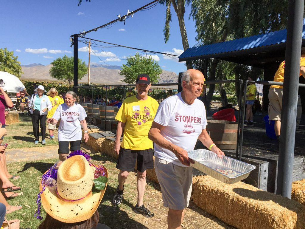 Grape Stomp at Pahrump